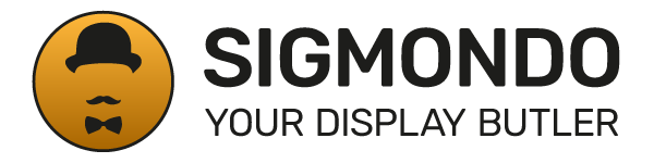 SIGMONDO - Your Display Butler